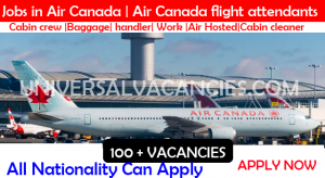 Jobs in Air Canada | Air Canada flight attendants